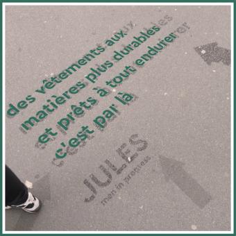 Un dispositif cleantag massif pour Jules !